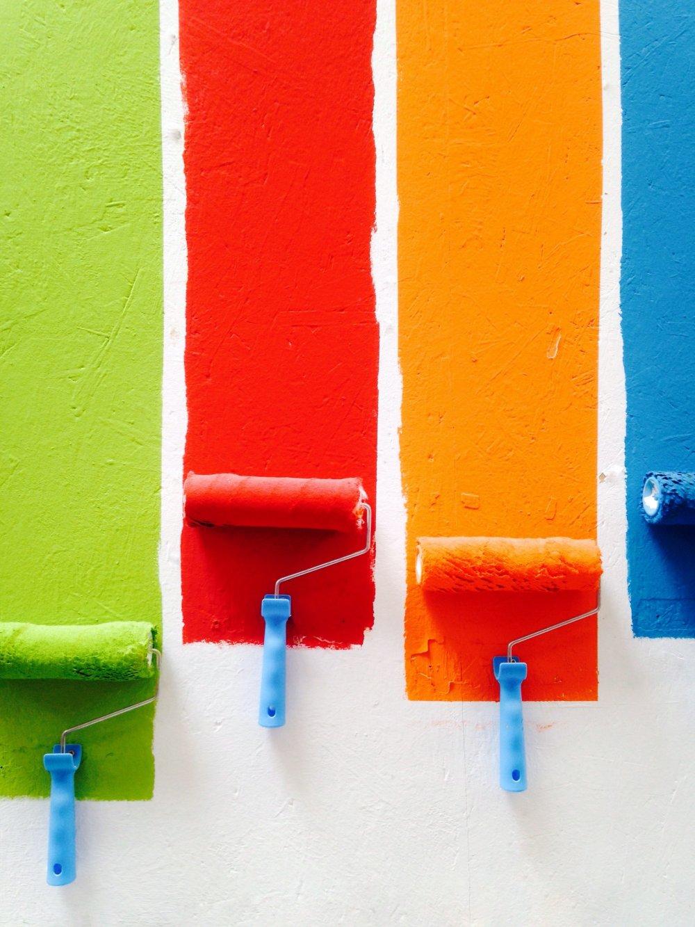 Pep dit hjem op med nye farver